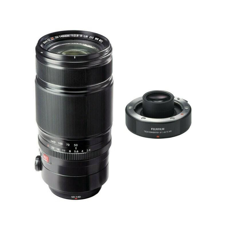 Fujifilm XF 50-140 mm F/2.8 R LM OIS WR Téléconvertisseur x1.4
