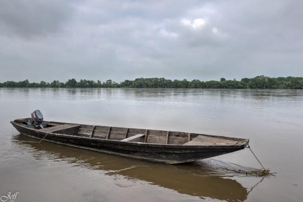 Le Thoureil lors des innondations de juin-5