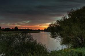 Ecouflant coucher de soleil sur la sarthe 14