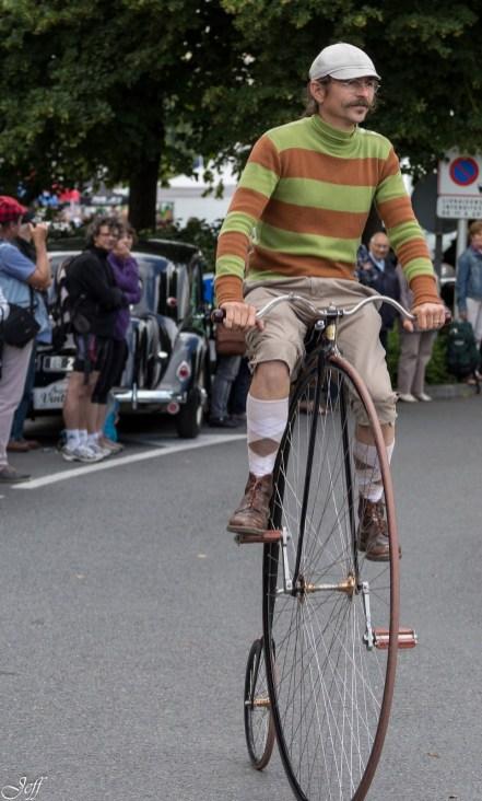 Saumur l'avant Anjou velo vintage au village 56
