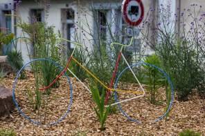 Saumur l'avant Anjou velo vintage au village 59