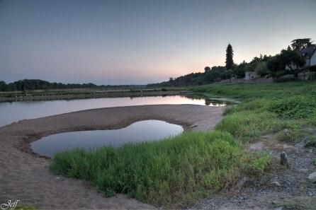 Visite à la Pointe Bouchemaine au coucher de soleil entre la Loire et la Maine (10)