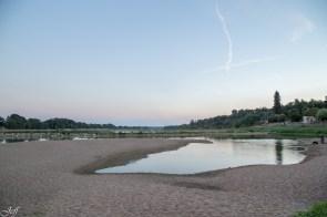 Visite à la Pointe Bouchemaine au coucher de soleil entre la Loire et la Maine (5)