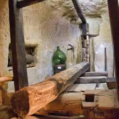 Le musée troglodyte à Rochemenier