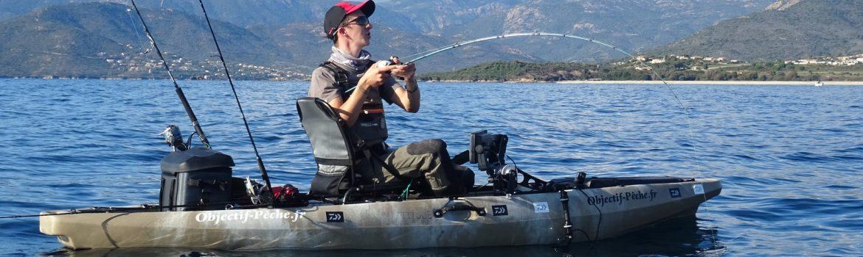 la pêche en kayak