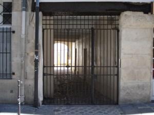 Grille de prison
