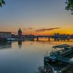 Le bord de la Garonne, Toulouse