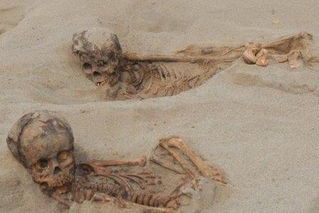 Массовое жертвоприношение детей было совершено на территории Перу более 500 лет назад