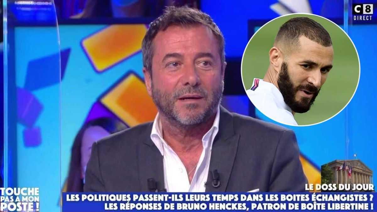 Bernard Montiel (TPMP) agacé, prend la défense de Karim Benzema, les réseaux sociaux s'embrasent !
