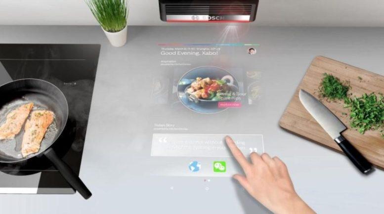 ecran tactile virtuel bosch