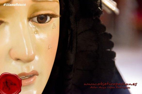 Sábado Santo: Pésame a la Virgen de la Soledad
