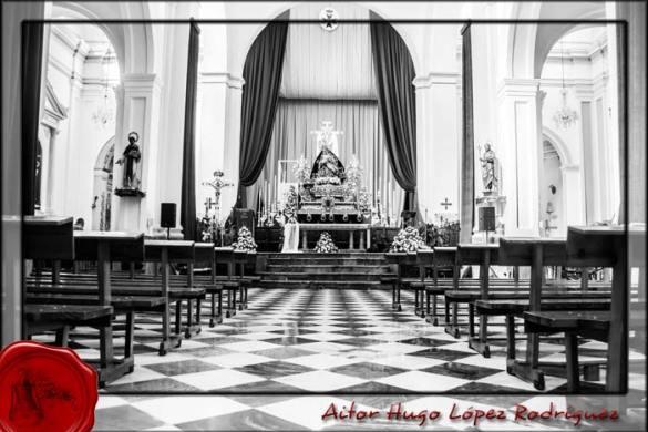 Altar tríduo Angustias