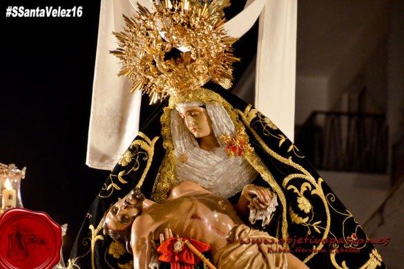 Viernes Santo: Desfile Procesional Cofradía Angustias Coronada
