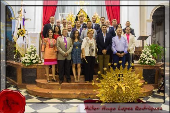Ofrendas Coronación Angustias