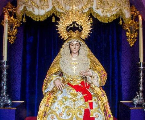 """Besamano """"Madre de Misericordia"""" – María Stma de la Piedad"""