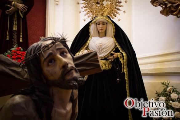Luto'16: María Santísima de la Amargura