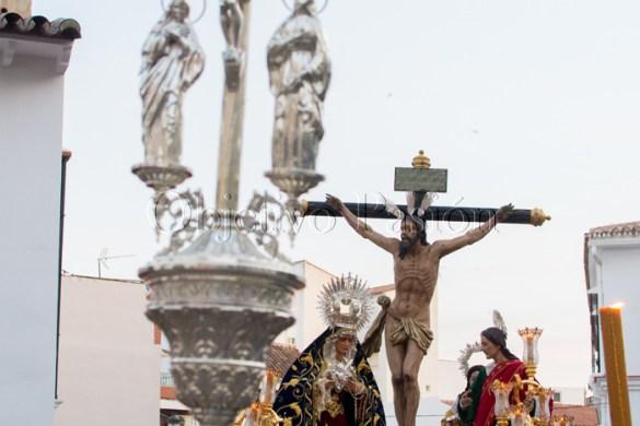 Viernes Santo 2017: Desfile procesional Cristo del Mar y Penas