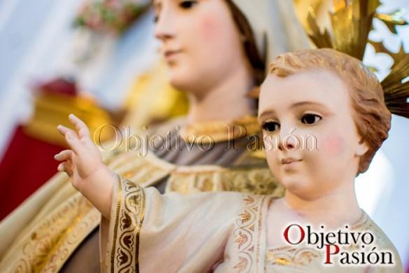 Besamano Virgen del Carmen (Cofradía de la Resurrección)