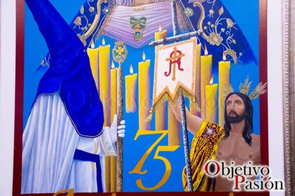 Detalles cartel 75 Aniversario Resurrección