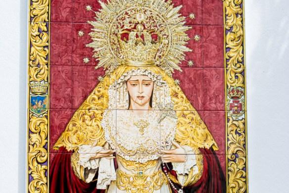 Bendición Azulejo María Santísima de la Paz