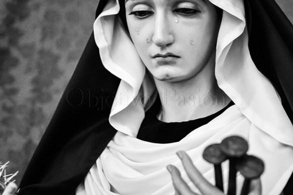 Sábado Santo 2018: Virgen de la Esperanza de luto