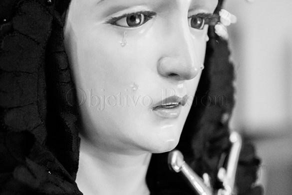Sábado Santo 2018: Pésame a Ntra Sra de la Soledad