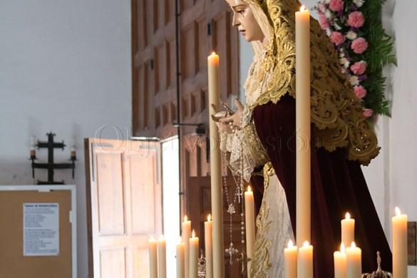 Altar XXV Aniversario María Santísima de la Paz