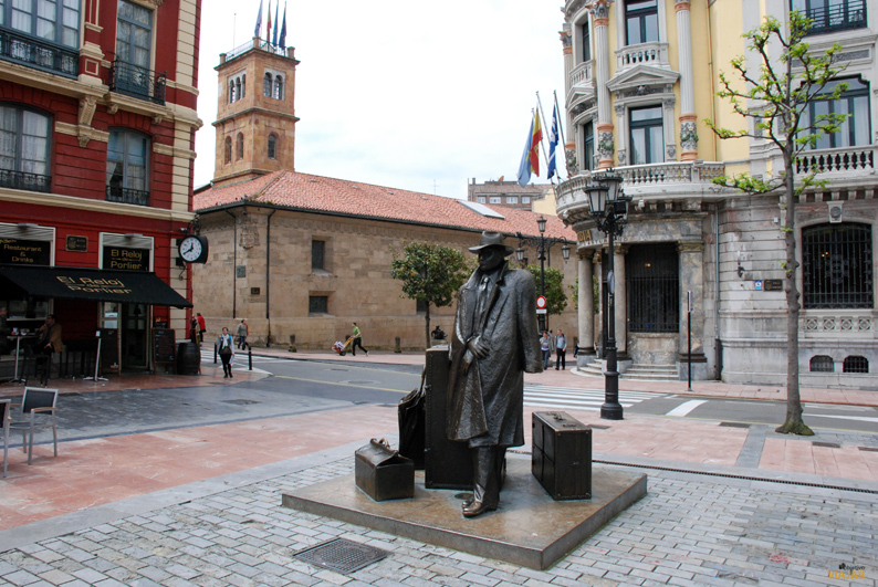 Plaza Porlier. Oviedo - Objetivo Viajar