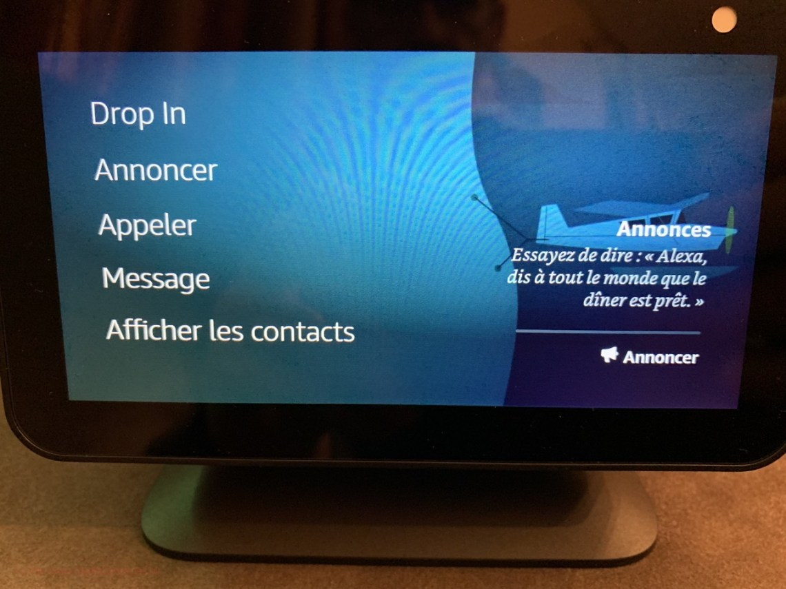 Amazon Alexa Echo Show - Messages