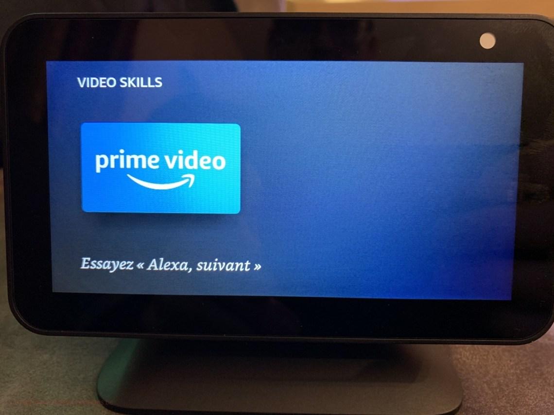 Amazon Alexa Echo Show - Prime vidéo