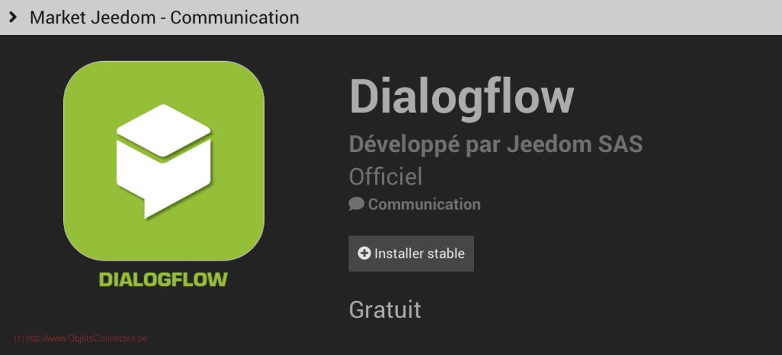 Jeedom-Plugin-DialogFlow-Google-Home-Assistant-installer