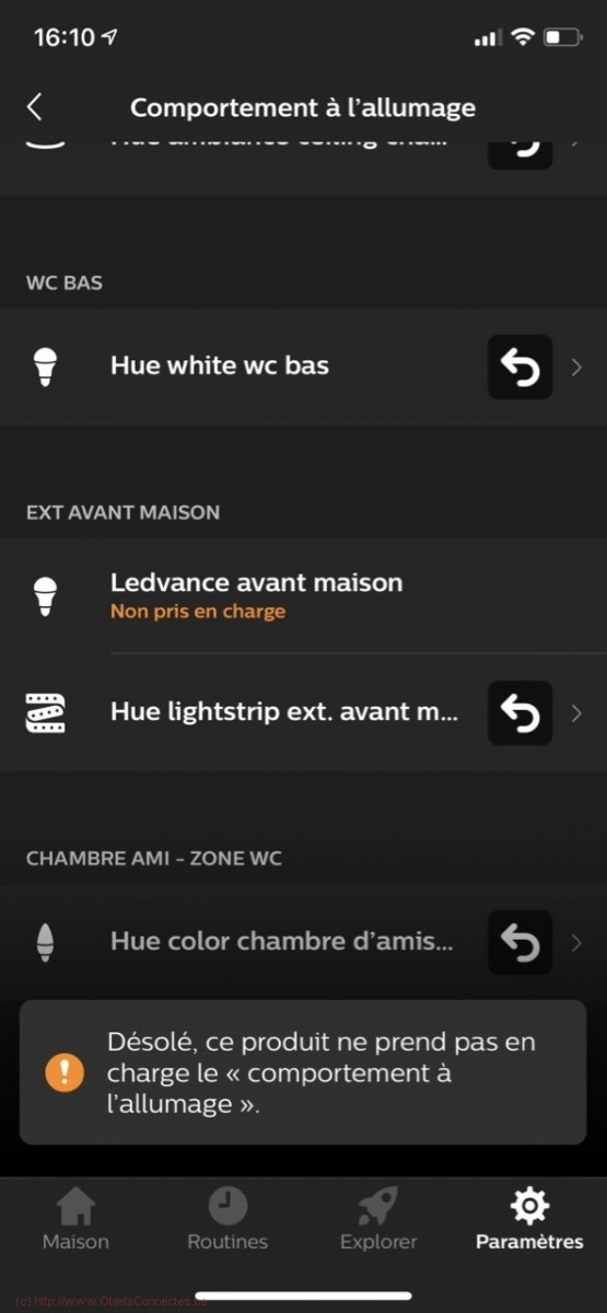 Ledvance Smart+ Garden Pole - Limitation de l'intégration Philips Hue