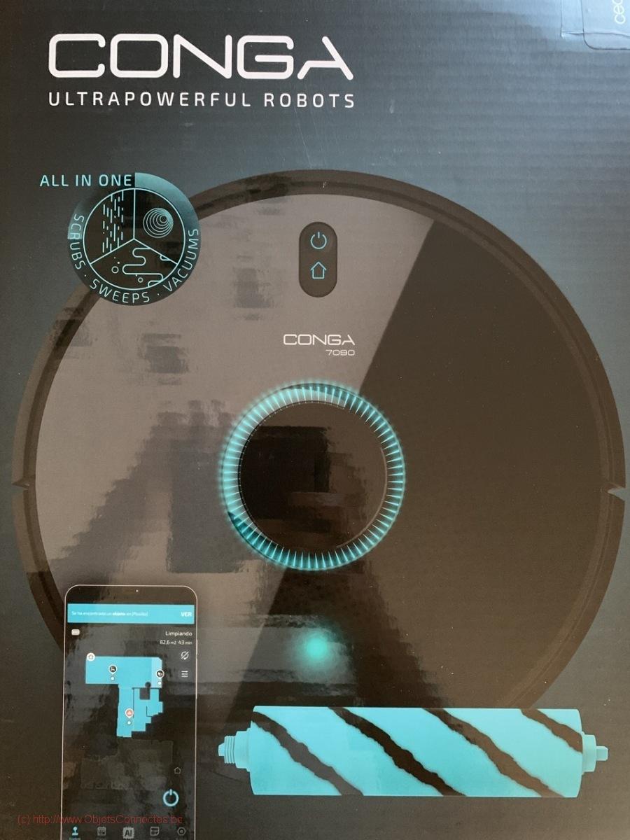 Aspirateur-Robot-Conga-Cecotec-887