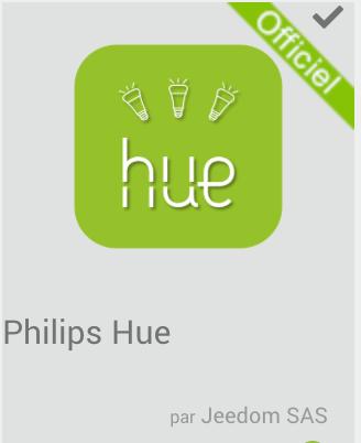Tutoriel pour Jeedom et le plugin Philips Hue.