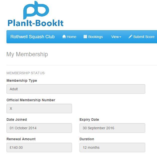 membership system