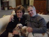 43 Dave, Kris, dogs 11-1-06