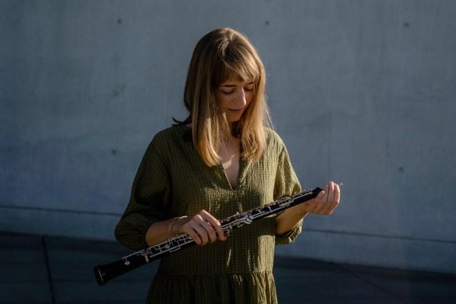 Eure Oboenlehrerin Miriam Ströher