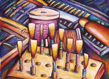 Spool&Reeds: Pastel by Kelsey Mitchell, 2003