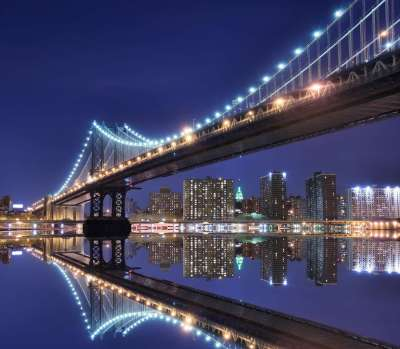 Вид на мост, фотопанно, фотобои, фотопанно ВАШ ВЕК