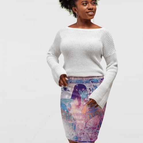 OBR-Womens-streetwear-pencil skirt