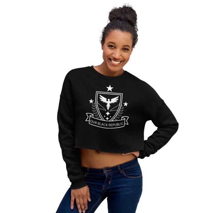 OBR ORIGINAL CROP TOP SWEATSHIRT