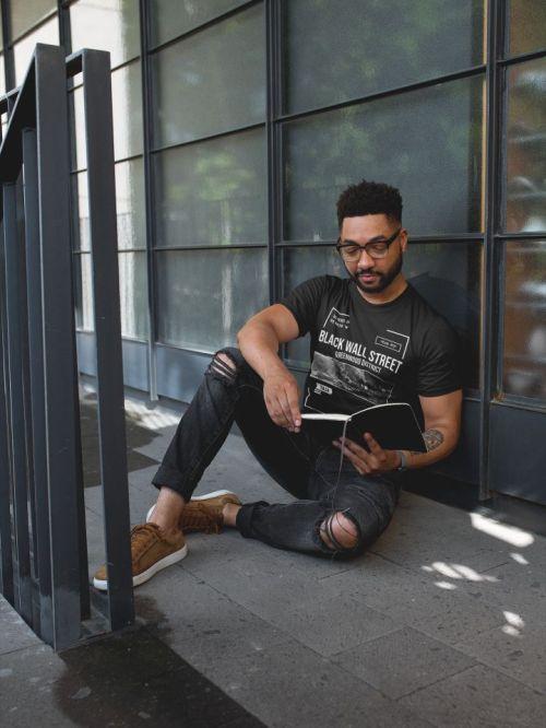 Black-wall-street-mens-tshirt-Tulsa-oklahoma