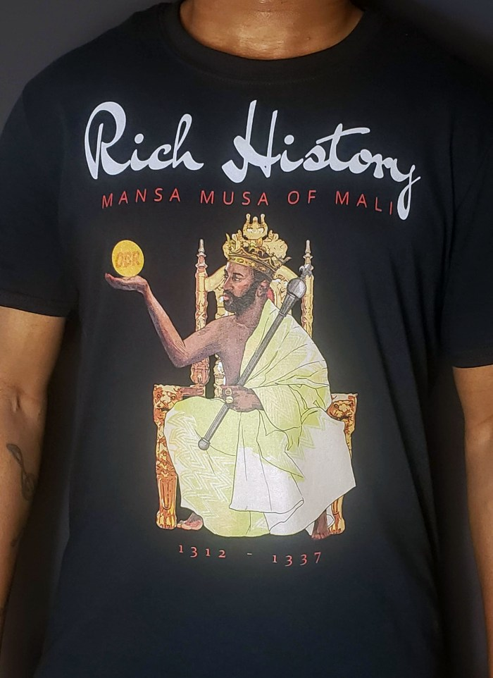 Mansa Musa of Mali Black OBR