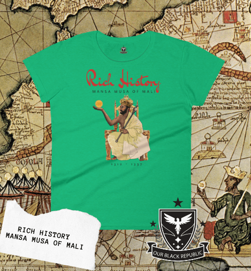 Mansa Musa womans shirt