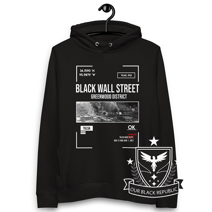 Black Wall Street Hoodie - Black Owned - Black History - Black Power - Black Lives Matter - African American - Urban - Black Power Hoodie - Kemet
