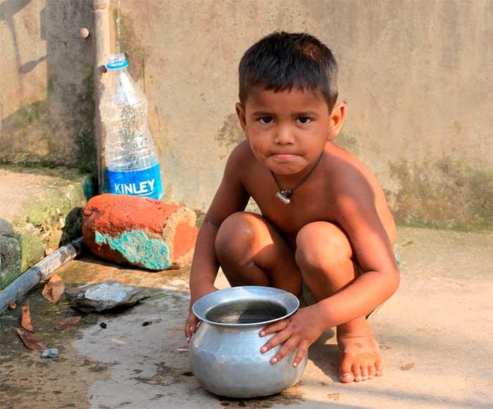 Alto índice de crianças desnutridas preocupa autoridades. Imagem: Pixabay