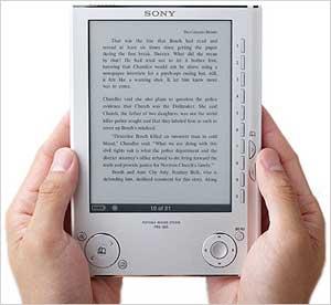 O ano de 2010 será a vez dos livros eletrônicos