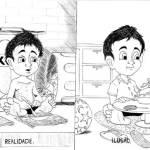 Jailton Farias - desenho pensando