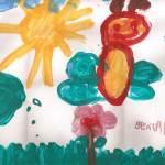 Beatriz - desenho Borboletinha feliz