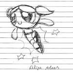 Felipe - desenho heroi